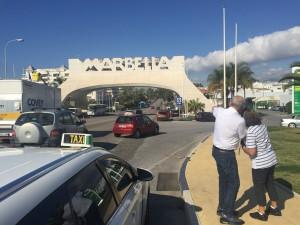 Tour a marbella en taxi desde malaga, taxi malaga puerto de cruceros