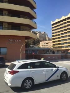 Hotel Melía Costa del Sol (Torremolinos), taxi hotel melia torremolinas desde malaga, taxi malaga a torremolinos