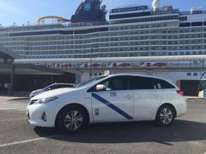 Crucero Norwegian Epic malaga taxi, cruceristas en taxi tour malaga, excursiones en taxi desde el crucero