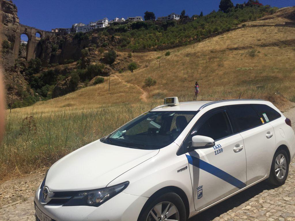 taxi malaga, taxi excursión a Ronda, Taxi Ronda tajo visita,