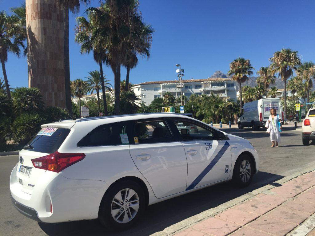 Marbella taxi malaga, excursión taxi marbella málaga